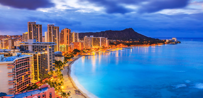 1月のハワイ
